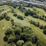 Aerial Drone Footage of Golf Course