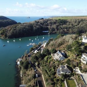 Aerial Drone Footage of Harbour